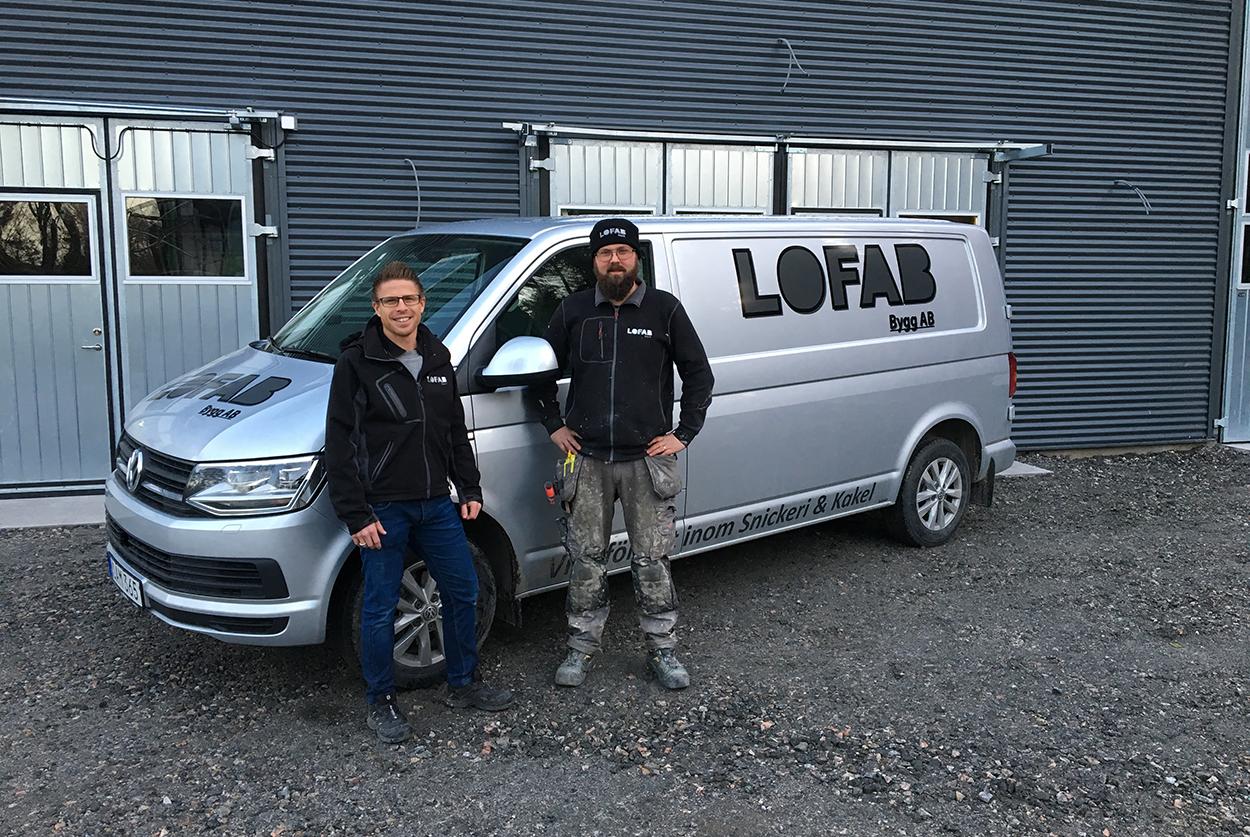 Lofab bygg blev utsedd till Gasellföretag av tidningen DI för andra året i rad.